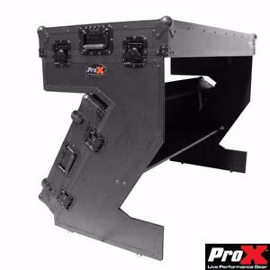 Z TYPE DJ TABLE --- FOLD LIKE A CASE --- LIGHT & SIMPLE TO INSTALL !