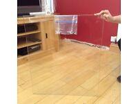 Splashback Clear Glass