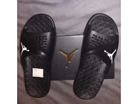 Brand new Jordan flipflops