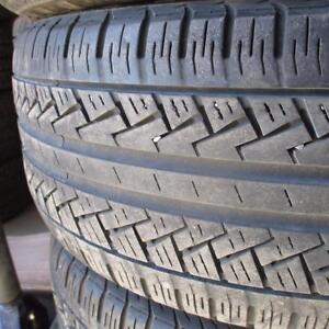 PIRELLI FOUR SEASONS 235/45R17 TIRES 85% TREAD