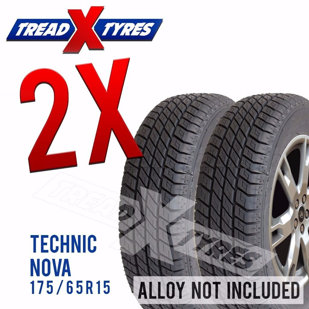 2 x New 175/65R15 Technic Nova Tyre - 175 65 15 - Fitting Available