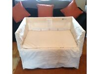 Arms reach co-sleeper crib
