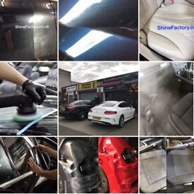 Car Detailing,Polishing Protection,Ceramic Coating, Ozone treatment Steam Valeting,Window Tinting