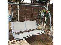 Charcoal garden adult swing seat