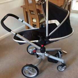 Silver cross surf pram/ pushchair / car seat/isofix base /in excellent condition