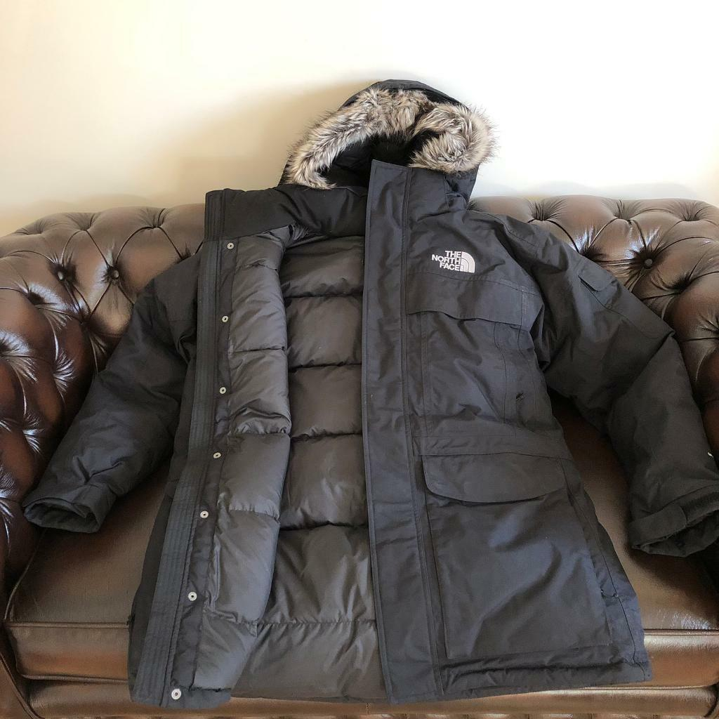 THE NORTH FACE Mcmurdo 550 Men s Outdoor Faux Fur Hooded Padded Jacket  Parka Coat Size Large b136e1f75