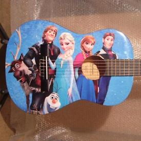 FROZEN AMAZING CHILDRENS 3/4 SIZE CLASSICAL KIDS GUITAR