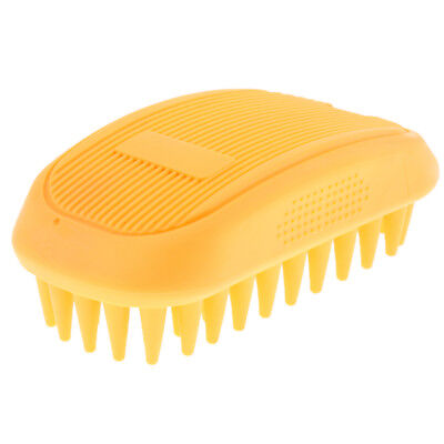 Dog Cat Rubber Comb Bath Grooming Washing Massage Cleaning Pet Hair Brush