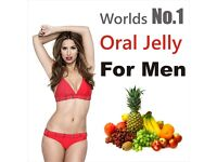 Worlds No.1 ** 7 x Sexual Enhancement Oral jelly *Powerful* 1 week pack! **NEW**