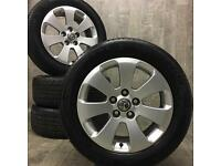17 genuine vauxhall insignia alloy wheels 6mm tyres delivery available vivaro van