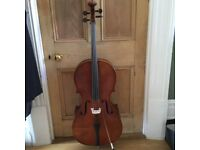 Full size 4/4 Roderick Paesold cello 602E