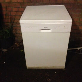 Whirlpool ADP 2315 WH Full Size Dishwasher,