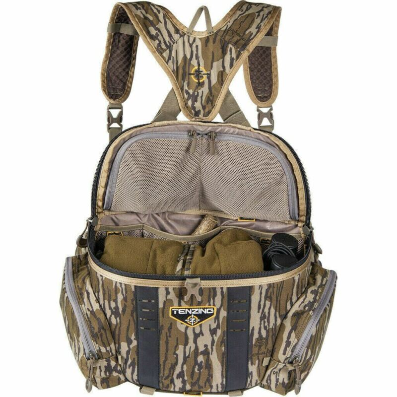 Tenzing Hangtime Lumbar Backpack for Tree Stand Hunting - Mossy Oak Bottomland