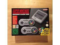 SNES Mini Nintendo - Brand New Unopened