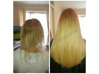 HAIR EXTENSIONS LONDON, NO DEPOSIT ALL COLOURS IN STOCK, CREDIT CARDS ACCEPTED, ALL 5 STAR REVIEWS