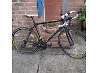 carrera Zelos 21.5 in frame racing bike