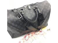 Louis Vuitton keepall 45 bandouliere epi leather monogram