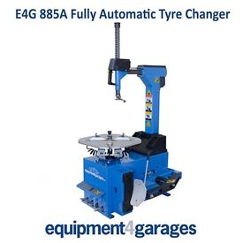 Brand New Fully Automatic Car Tyre Changer E4G 885A