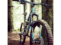 2015 specialised enduro full suspension 650b downhill bike