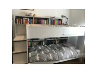 Bunk bed with lots of storage