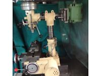mill drill dore westbury with power feed in very good order some tooling