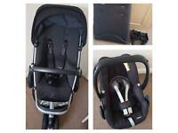 Quinny Pushchair With Pebble Car Seat