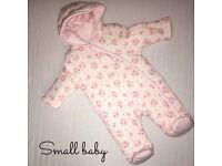 Mini club baby snow suit