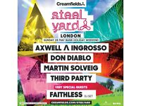 4 x Tickets to Axwell & Ingrosso Steelyard London 28th May (£30 each)