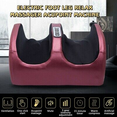 Multi-function Foot Massager Electric Heating Foot Leg Relax Kneading Machine UK