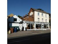 SURREY, FARNHAM - RESTAURANT FOR SALE - CLOSE TO TOWN CENTRE 1469 SQ FT