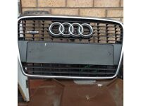 Audi A4 qauttro front grill