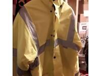 Arco hi Vis warm fluorescent coat size L