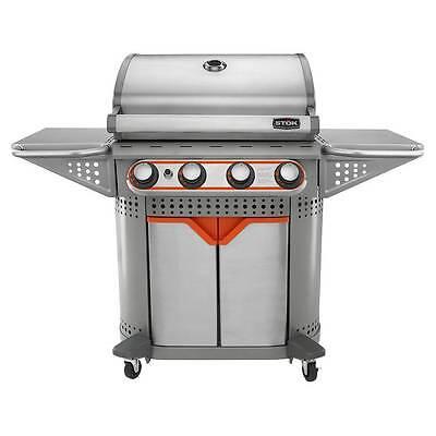 STOK Quattro  4-Burner Gas Grill 600 sq. in. w/ Insert System SGP4130N Brand New