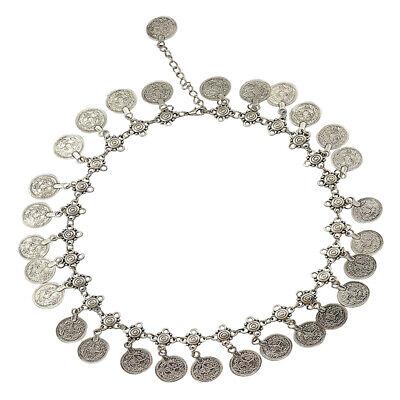 1 Stk Münze Anhänger Halskette Ethnische Halsketten für Frauen Boho Schmuck ()