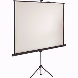 Projection Screen- White Portable Projection Screen