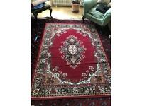 Traditional Classic Red Rug Large - 160cm x 220cm