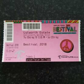 Caravan/Trailer Tent Ticket BESTIVAL 2018
