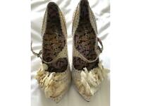 Vintage Ladies shoes size 37
