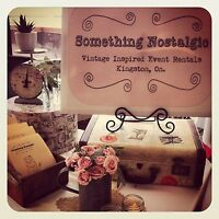 Something Nostalgic - Vintage Inspired Event Rentals