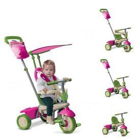 Pink smart trike ex condition