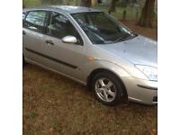 2004 Ford Focus 1.4 petrol MOTD to August