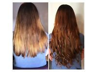 Micro ring full head & micro ring weft hair extensions