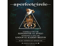 A Perfect Circle Manchester Apollo 12 June Standing