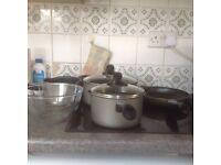 4 piece Bialetti Pot and saucepan set