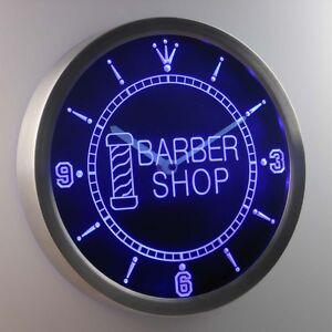 nc0245-b-Barber-Pole-Shop-Hair-Cut-OPEN-Neon-Sign-LED-Clock