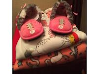 Brand new pj and slipper set - Never worn items