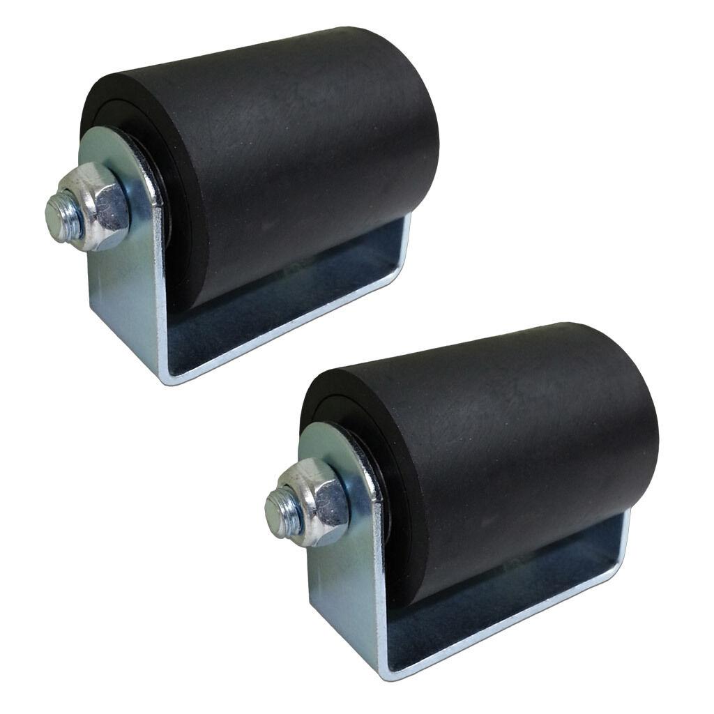 Gate roller top guide rubber hard plastic quot sliding