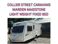 2008 light weight fixedbed 4 berth Bailey pageant bordeaux