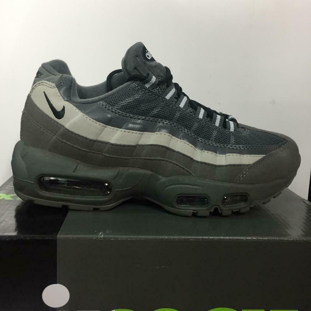 the best attitude e9667 13848 Nike Air Max 95 Grey Sizes 6,7,8,9,10,11