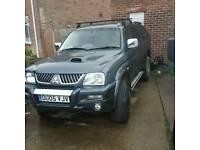 Mitsubishi L200 animal full lether 106k